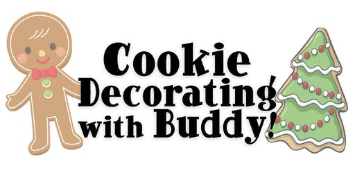 Cookie Decorating with Buddy!