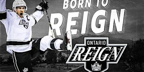 Ontario Reign Hockey tickets
