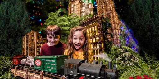 "New York Botanical Garden's ""Holiday Train Show"""
