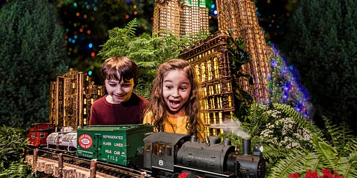 "New York Botanical Garden's ""Holiday Train Show"""
