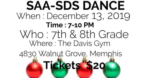 SAA-SDS 7th & 8th Grade Dance