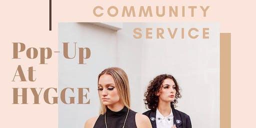 Community Service Pop Up