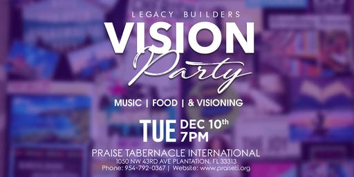 Legacy Builders: Vision Board Party