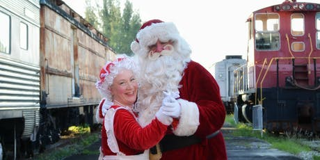 """Gold Coast Railroad Museum's """"A Holly Jolly Holiday Event"""" tickets"""