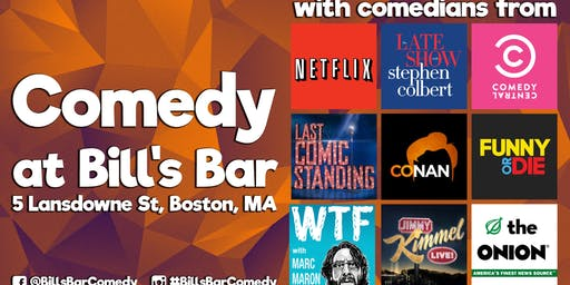 Comedy at Bill's Bar (New Year's Eve!)