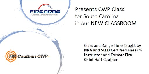 SC Concealed Weapons Permit class to learn to protect yourself/family