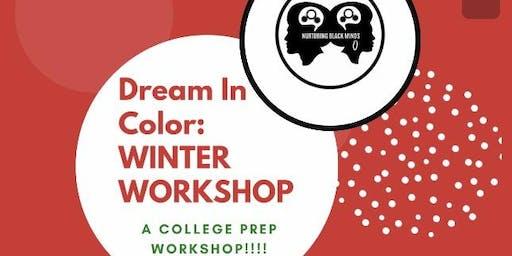 Dream In Color: WINTER WORKSHOP