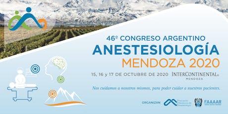 46 º Congreso Argentino de Anestesiología entradas