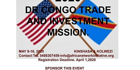 2020 DR CONGO TRADE AND INVESTMENT MISSION billets