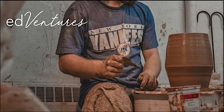 FULL Pottery Wheel Throwing for Beginners Course – Matt Cripps tickets