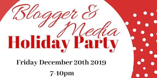 Blogger & Media Holiday Party