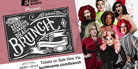 """Babes of Bourbon & Branch"" Drag Brunch tickets"