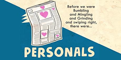 """Personals"" tickets"
