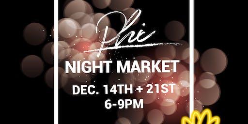 December Phi Night Market