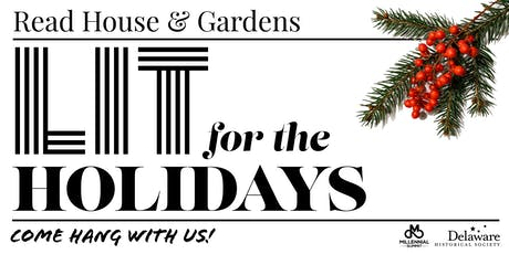 Read House & Gardens LIT for the Holidays tickets
