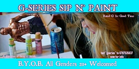 G-Series Sip & Paint Experience Atlanta tickets