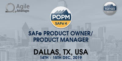 SAFe Product Owner/Product Manager (POPM) - Dallas, TX ,USA