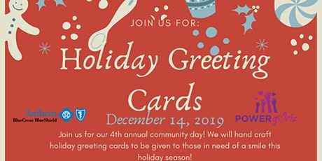 Crafting Holiday Greeting Cards tickets