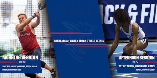 Shenandoah Valley Track & Field Clinic