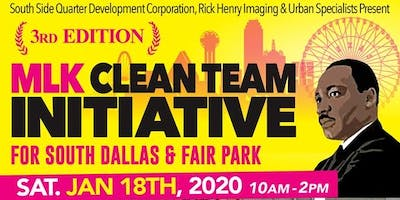 Keep Up the Dream - Phase III Clean Team Initative
