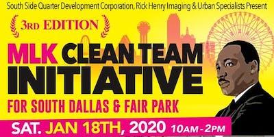 Keep Up the Dream - Phase III Clean Team Initative