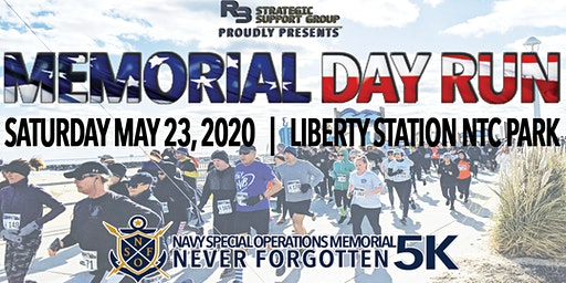 Memorial Day Run @ Liberty Station