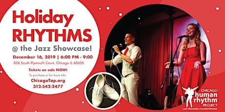 Holiday Rhythms @ the Jazz Showcase! Dec. 16 tickets