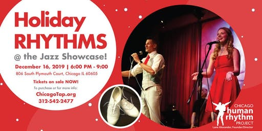 Holiday Rhythms @ the Jazz Showcase! Dec. 16