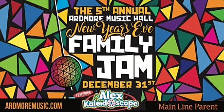 5th Annual New Year's Eve (Day) Family Jam w/ Alex & the Kaleidoscope tickets