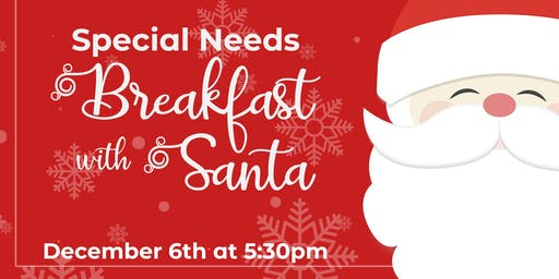 Special Needs Breakfast with Santa
