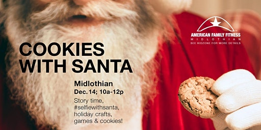 Cookies With Santa - Free Event for Kids!