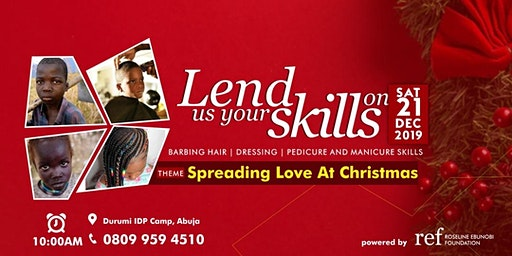 Lend Us Your Skills for Charity