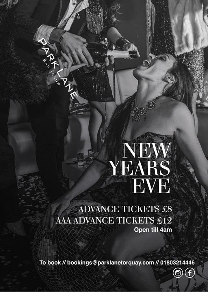 New Years Eve at Park Lane Torquay image