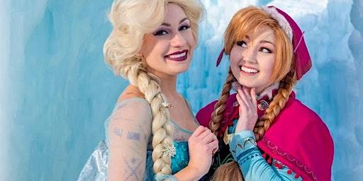 Tiny Diva Princess Party - Enchanted Frozen Sisters