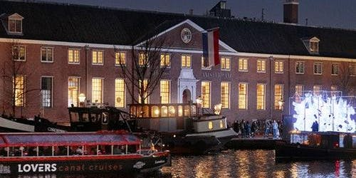 Amsterdam Light Festival - Open Top Boat