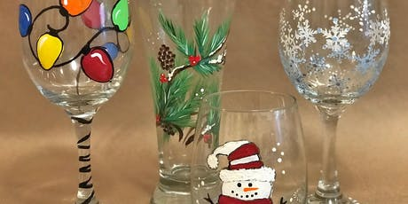 Holiday Glass Painting Party! tickets