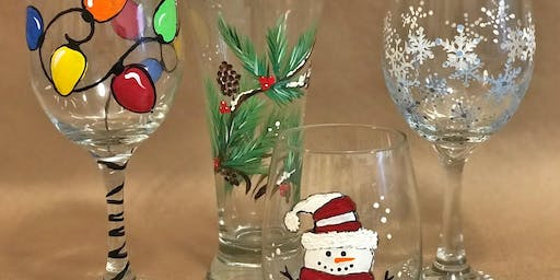 Holiday Glass Painting Party!
