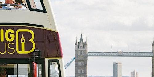 Hop-on Hop-off Bus London + Walking Tour + River Cruise