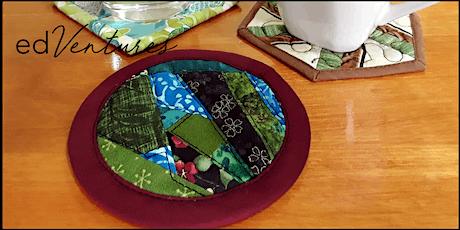 Patchwork Coasters Workshop - Cat Candow tickets