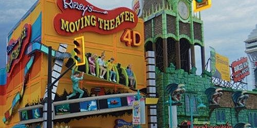 Ripley's Niagara Falls: 4D Moving Theatre