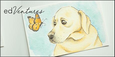 Stylized Pet Portraits Workshop - Vena Carr tickets