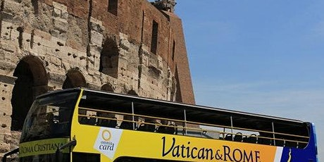 24H Hop-on Hop-off Bus Rome + Travel Card & St. Callixtus Catacombs biglietti