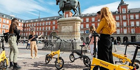 Madrid Parks & Highlights: eBike Guided Tour + Cable Car tickets