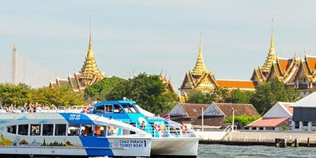 Hop-on Hop-off Boat Chao Phraya River: 1-Day Pass tickets