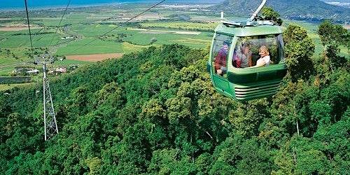 Kuranda, Scenic Rail & Skyrail: Full Day Tour from Port Douglas