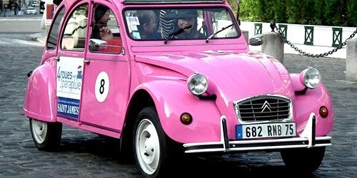 Private Tour in a Citroën 2CV with Driver