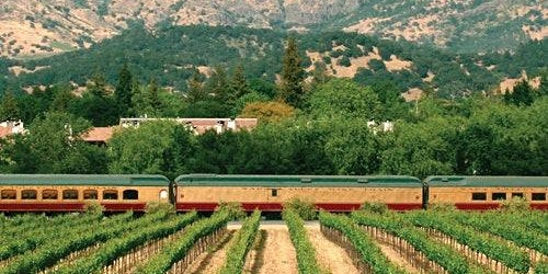 Napa Valley Wine Train & Grgich Hills Estate Tour + SF Connection Option
