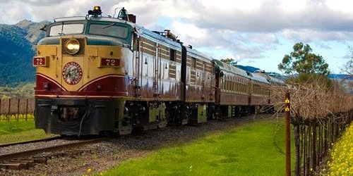 Napa Valley Wine Train & Castle Tour + SF Connection Option