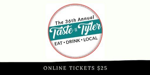 2020 Taste of Tyler Tickets