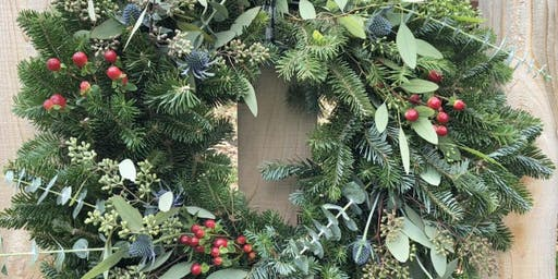 Create Your Holiday Wreath at Mitchell Gold + Bob Williams - Natick